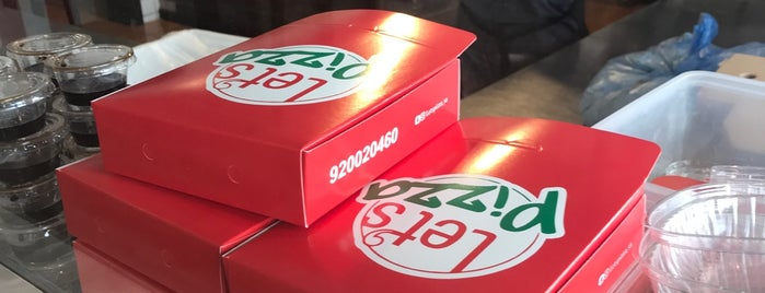 Let's pizza is one of Riyadh.
