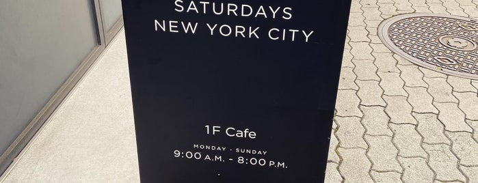 SATURDAYS SURF NYC OSAKA is one of Lugares guardados de Whit.
