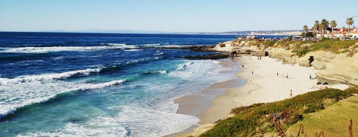 La Jolla Beach is one of San Diego.