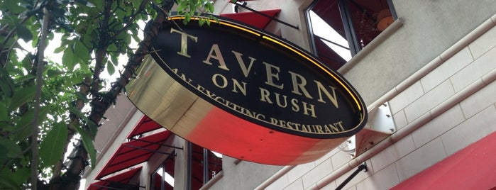 Tavern on Rush is one of Chicago Part II.
