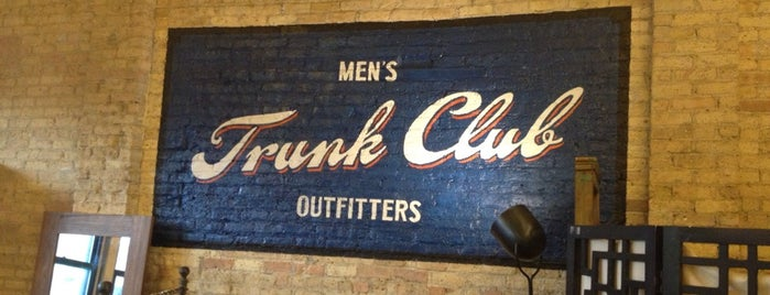 Trunk Club - Chicago is one of Tempat yang Disukai Brandon.