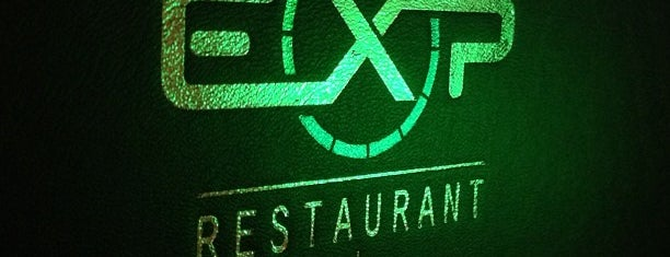 EXP Restaurant + Bar is one of Lieux qui ont plu à Brian.