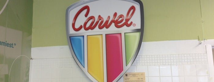 Carvel Ice Cream is one of Stuart 님이 저장한 장소.