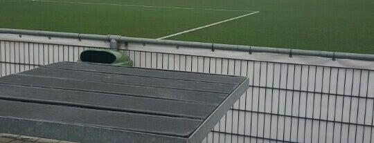 Jef Mermansstadion is one of Lieux qui ont plu à Karin.