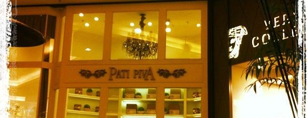 Pati Piva is one of Shopping Cidade Jardim.