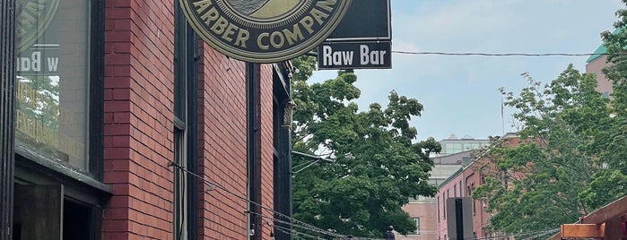Blind Pig Barber Company is one of Zach & Sam wedding weekend.