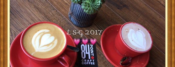 84 Point Coffee is one of Locais curtidos por Liz.