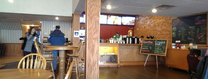 Brumby's Coffeehouse and Pizzeria is one of Lieux qui ont plu à Jessy.