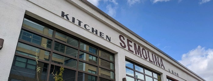 Semolina Kitchen & Bar is one of Pizza Time: Boston.