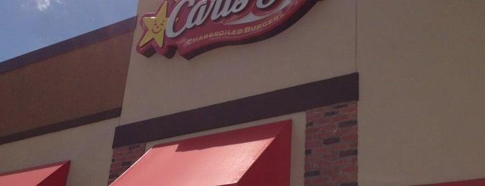 Carl's Jr. is one of Tempat yang Disukai Scott.