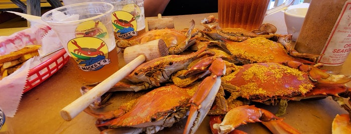Mickey's Family Crab House is one of Delaware.