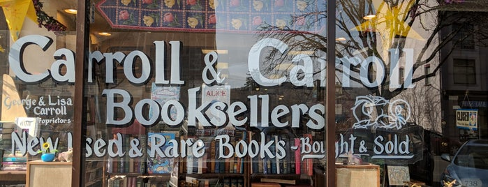 Carroll & Carroll Booksellers is one of Road Trips (Under 3 Hours).
