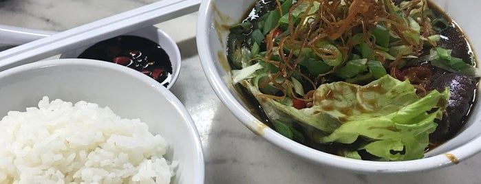 Hwa Ji Bak Kut Teh(華記肉骨茶) is one of Jia 님이 좋아한 장소.