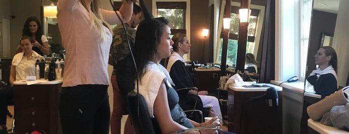 Christopher Noland Salon and Beauty Spa is one of Tempat yang Disukai Bridget.