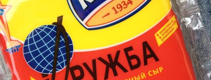 Московский завод плавленых сыров «Карат» is one of Locais curtidos por Ilya.