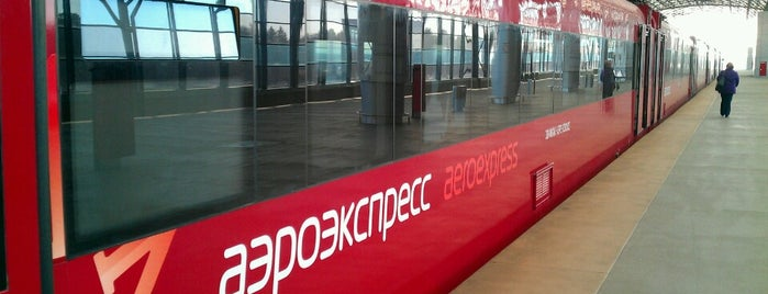 Aeroexpress Terminal at Belorusski Railway Station is one of Galina 님이 좋아한 장소.
