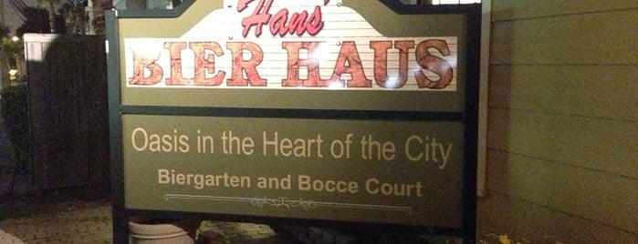 Hans' Bier Haus is one of Patio.