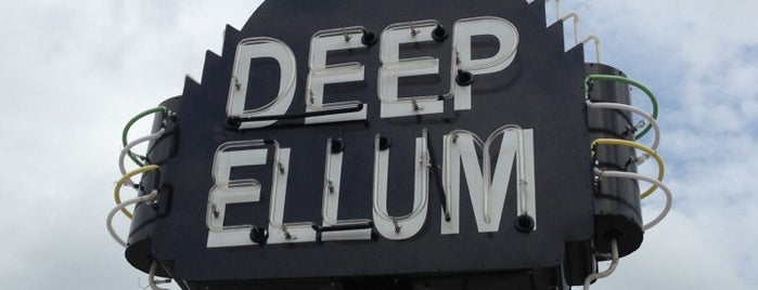 Deep Ellum is one of 67 Things to do in Dallas Before You Die or Move.