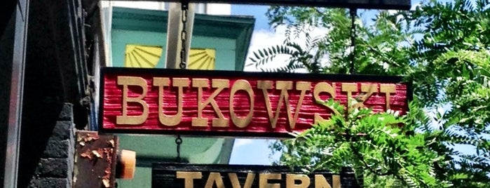 Bukowski Tavern is one of New England To-Do's.