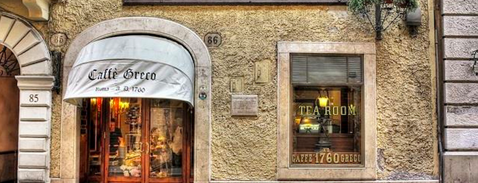 Antico Caffè Greco is one of Things to do in ROME, curated by local experts.