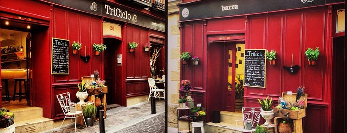Triciclo Restaurante y Barra is one of princesses in madrid.