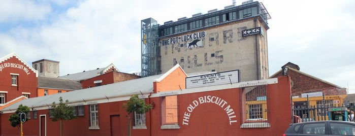 The Pot Luck Club & Gallery is one of cape town.