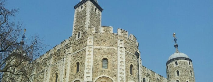 The White Tower is one of Tempat yang Disimpan Fabiola.