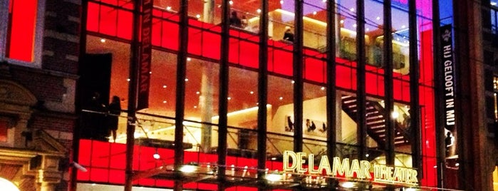 DeLaMar Theater is one of Amsterdam.