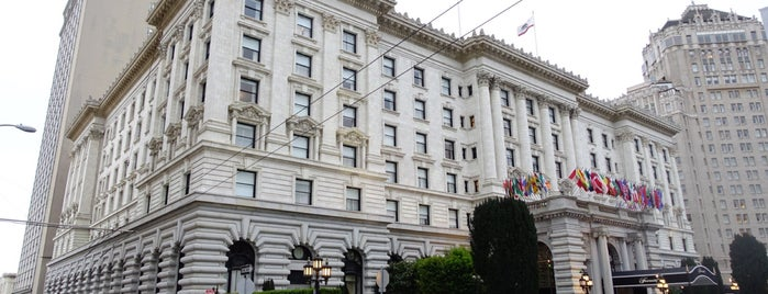 The Fairmont San Francisco is one of SF places.