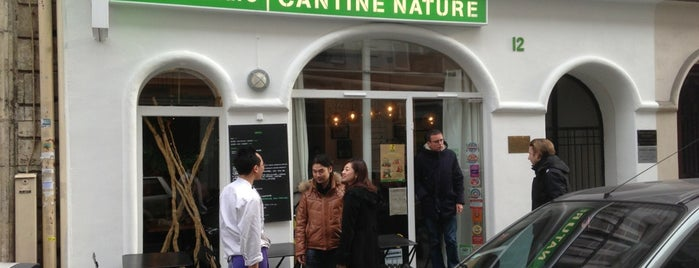 Supernature - Cantine is one of restos.