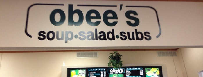 Obee's Soup Salad Subs is one of Ottawa To Try.