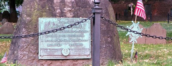 Grave of Samuel Adams is one of USA Boston.