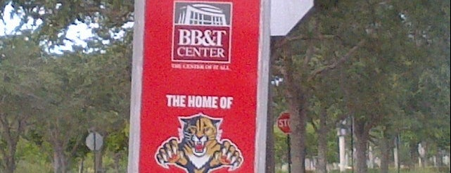 BB&T Center is one of Sporting Venues....