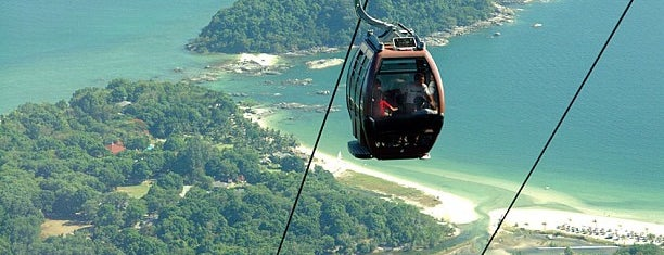 Langkawi Cable Car is one of Lieux qui ont plu à Josh.