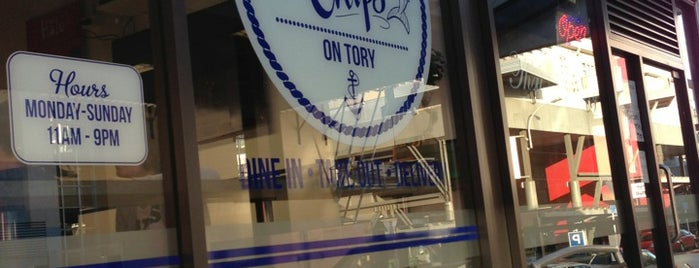 Fish n' Chips On Tory is one of Ariさんのお気に入りスポット.