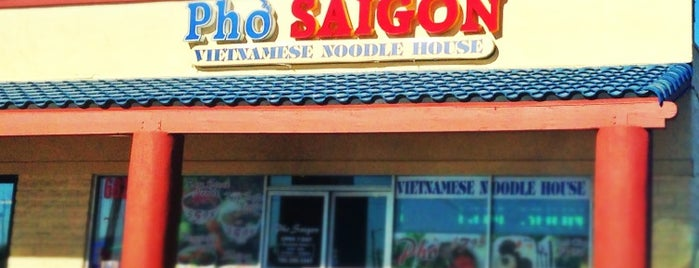 Pho Saigon is one of Vegan dining in Las Vegas.