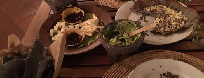 Casa Oaxaca El Restaurante is one of Sibele : понравившиеся места.