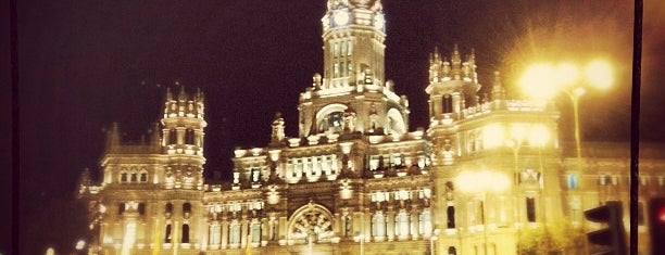 Plaza de Cibeles is one of Madrid.