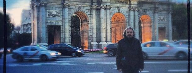 Puerta de Alcalá is one of Madrid.