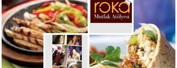 Roka Mutfak Atolyesi is one of สถานที่ที่บันทึกไว้ของ Emre.