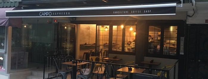 Campo Espresso is one of istanbul avrupa git2.