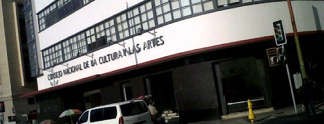 Consejo Nacional de la Cultura y las Artes is one of Patricio'nun Beğendiği Mekanlar.