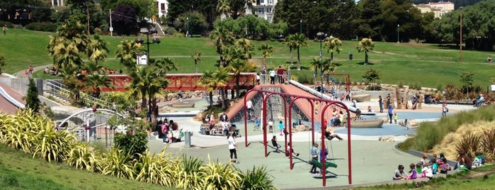 Helen Diller Playground is one of California To-Do.