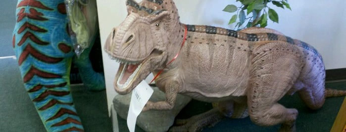 The Dinosaur Farm is one of Places to go, things to do.
