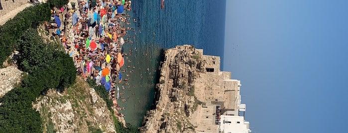 Spiaggia di Polignano is one of Puglia, Italia.