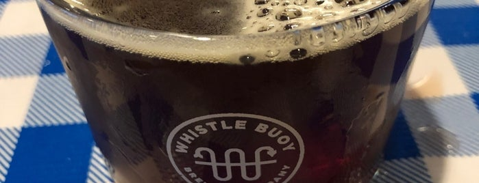 Whistle Buoy Brewing Company is one of Lieux qui ont plu à Pierre.