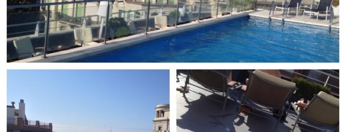 NH Podium Rooftop Pool & Bar (c) is one of Barcelona.