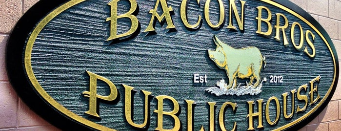 Bacon Bros Public House is one of Lugares guardados de Robin.