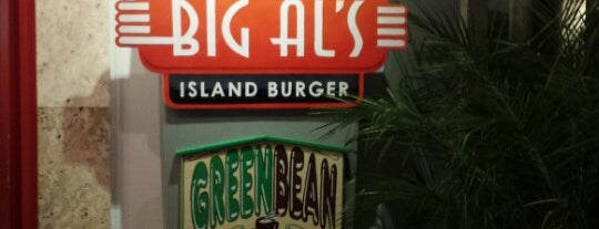 Big Al's Island Burger is one of T&C.
