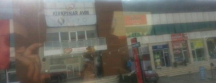 Kırkpınar AVM is one of Kenan'ın Beğendiği Mekanlar.